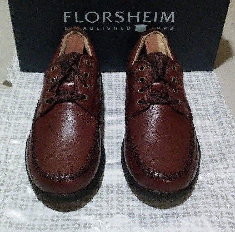 New Florsheim Comfortech Decatur 6 M brown (605)