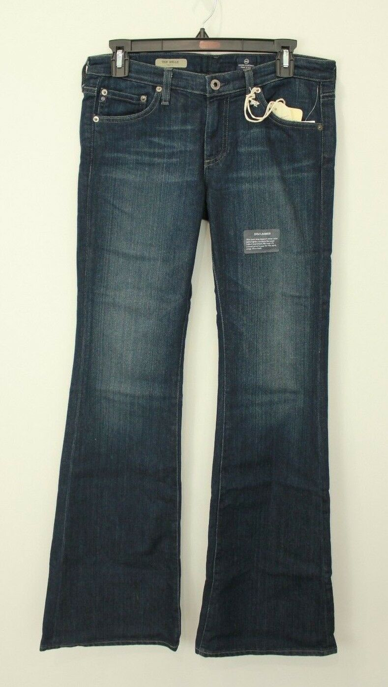 NWT AG ADRIANO goldSCHMIED BELLE FLARE LOW RISE STRETCH JEANS NEW SIZE 29