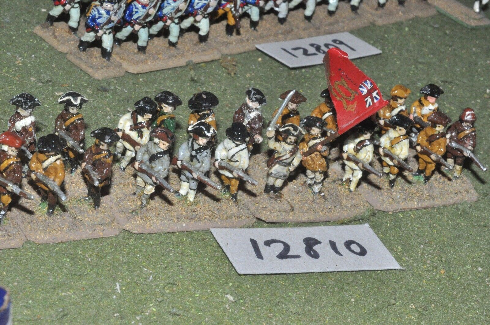 25mm AWI   american - infantry infantry infantry 24 figs - inf (12810) 8ef66f