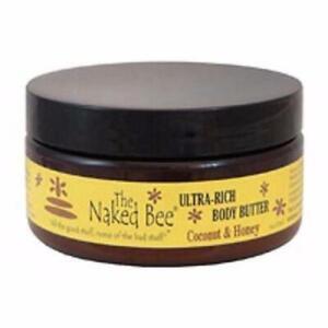 Naked Bee Pomegranate & Honey Ultra Rich Body Butter - 8