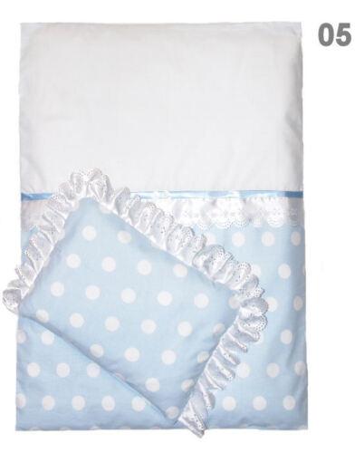 Decke mit Kissen Kinderwagendecke mit Kissen 4-Teiliges Kinderwagenset
