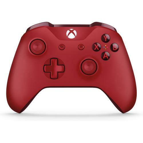 Xbox Wireless Controller Red  -  Wireless - Bluetooth - Xbox One - PC - Red