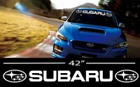 Subaru Wrx Sti Rally Decal Vinyl Graphics Sticker Racing Windshield Banner