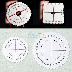 Square-Round-Kumihimo-Braiding-Cord-Disc-EVA-Foam-DIY-Braided-Plate-Tool-Durable