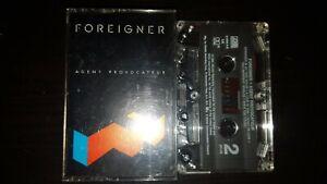 Classic Vintage Cassette Tape - FOREIGNER - Agent Provocateur
