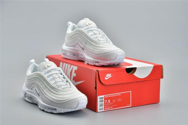 quality design 8f249 572b2 NEW Nike Air Max 97 OG White Wolf Grey Trainers 921826-101 EU36-45