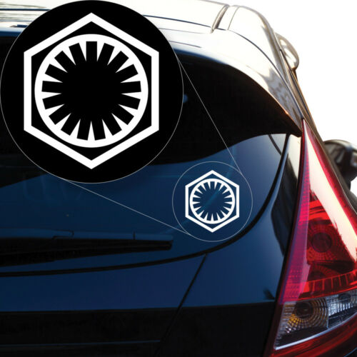 Laptop and More # 938 First Order Star Wars Decal Sticker for Car Window
