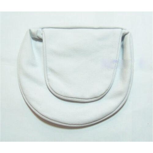 Naruto Uzumaki Ninja Cosplay White Waist Bag Shuriken Kunai Weapon Pack White