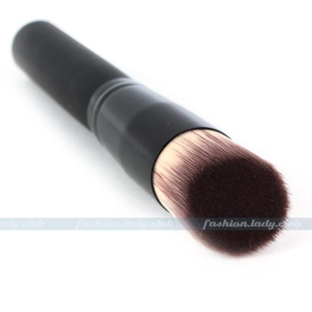 1pc NEW Black Makeup Cosmetic Fiber Powder Foundation Blush Brush Stipple Tool