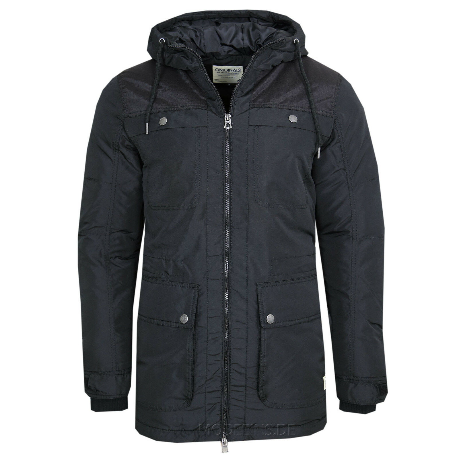 jack jones jacke tommy parka gr s m l xl xxl ebay. Black Bedroom Furniture Sets. Home Design Ideas