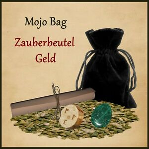 Mojo Bag Geld Zauberbeutel Hexenbeutel Geldzauber Geldritual Wunsch