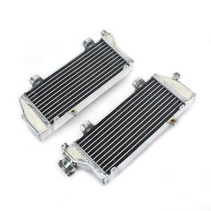 MX Aluminum Radiators Engine Cooling For KTM EXC 200 250 350