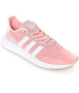 Detalles acerca de Adidas para mujeres Tenis Blancos Flashback Rosa Coral  Haze BA7759 Talla 7 Nuevo Sin Caja $85- mostrar título original