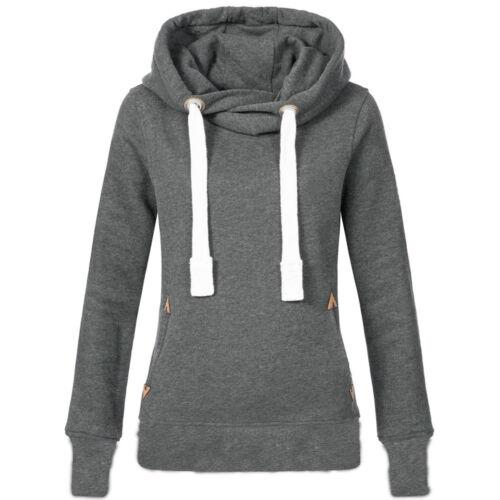 Women Hoodies Sweatshirt Winter Warm Loose Hooded Jumper Coat Oversized Plus