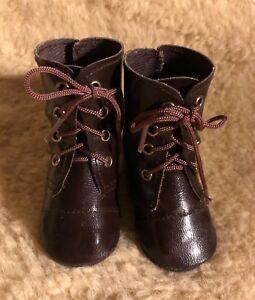 Poupées chaussure marron pour filles U. jeune 7,2 x 3,2 cm (Cornelia)  </span>