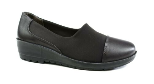 Pointed Toe Women Ladies Court Shoes UK Size 3-8 COMFORT SLIP ON