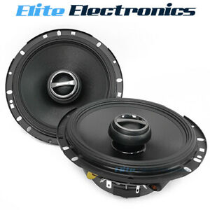 "Alpine S-S65 S-Series 6.5"" 2-Way 240W Coaxial Car Speakers"