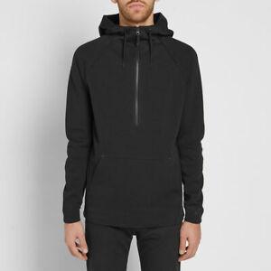 nike 1/2 zip hoodie grey