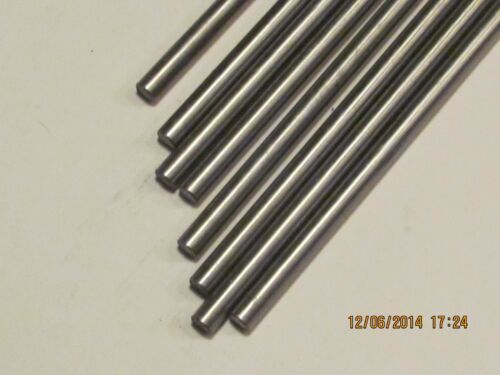 "- 3//8/""  Aluminum  Rod Both ends Tapped 10-24 3 Pcs  6 1//2/"" Long"
