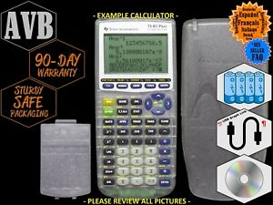 Image Is Loading Texas Instruments Ti 83 Plus Silver Edition School