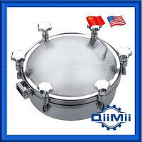 Qiimii Stainless Pressure Circular Manhole Cover Tank Round Manway Door