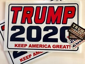 Trump-2020-Keep-America-Great-Campaign-2-Yard-Signs-4-Decals