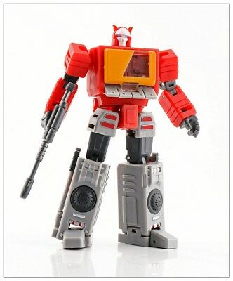 Transformers MS-TOYS MS-B17 Robot Action Figure Stereo Master mini Blaster MISB