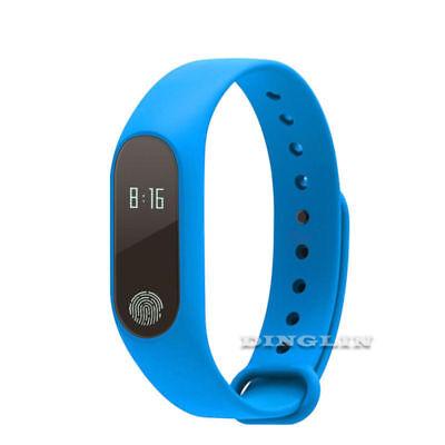 2018 Waterproof IP67 Band 2 M2 Smart Watch Heart Rate Monitor Fitness Tracker
