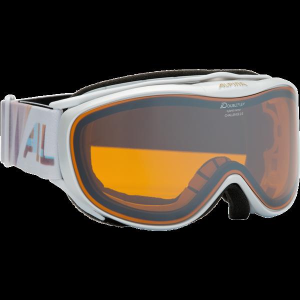 Skibrille Alpina Challenge 2.0 pearlWeiß/HM Orange S2  EUR 79,95