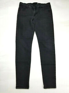 G-by-Guess-Skinny-Jeans-Black-Rinse-Super-Stretchy-5-Pocket-Juniors-Sz-11-32-034