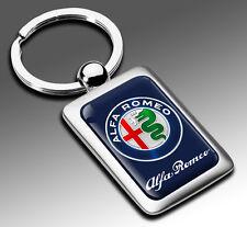 METALLO PORTACHIAVI KEYRING EMBLEMA AUTO MOTO TUNING SPORT CHIAVE ALFA ROMEO K 1