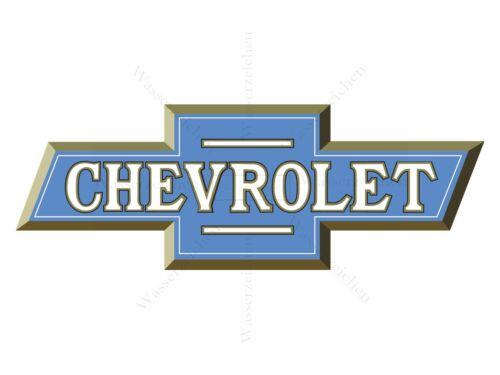 10cm!AUFKLEBER-STICKER Logo-Chevrolet AC008 UV/&Waschanlagenfest Auto KFZ bunt