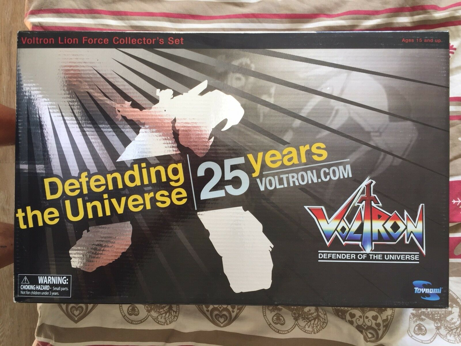 Voltron 25 years  Toynamy