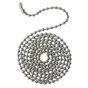 6 pack 3 beaded pull chain with connector ceiling fan chain image is loading 6 pack 3 039 beaded pull chain with aloadofball Image collections
