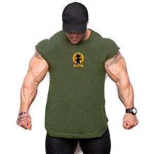 Spandex-Soft-Stretch-Running-Singlet-Camo-Bodybuilding-Custom-Mens-Gym-Tank-Top