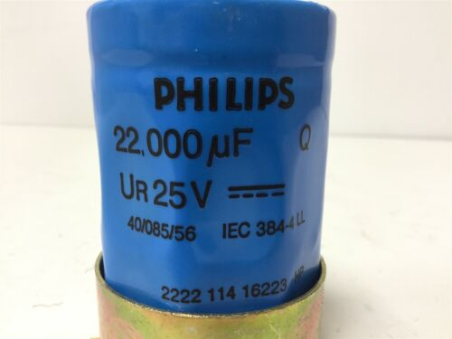 Rating With Mounting Bracket Philips 2222 114 16223 Capacitor 22000uf 25VDC