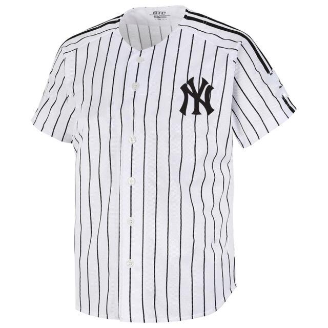 NY New York Yankees Raglan Polo T-Shirts Baseball Collar Tee Jersey Uniform 0110