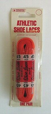 Vintage Converse Shoe Laces Made In USA NOS Chuck Taylor All Star Sneakers Shoes