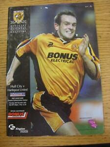 26122002 Hull City v Hartlepool United  Light Crease Small NickHoles - <span itemprop=availableAtOrFrom>Birmingham, United Kingdom</span> - Returns accepted within 30 days after the item is delivered, if goods not as described. Buyer assumes responibilty for return proof of postage and costs. Most purchases from business s - Birmingham, United Kingdom