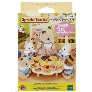 Sylvanian Families Food /& Shop Theme 4610 Popcorn Cart //3 Brand New In Box