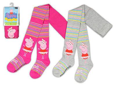 PEPPA PIG WUTZ BALLERINA Kinder Strumpfhose Gr. 92-122 Socken Strümpfe NEU