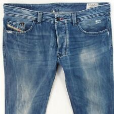 Mens Diesel LARKEE 008AT Straight Regular Fit Blue Jeans W36 L32