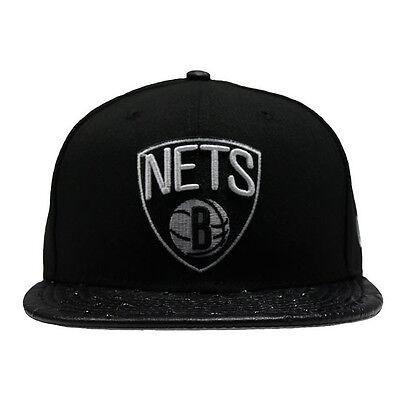 100% QualitäT New Era 59fifty Brooklyn Netze Reptil Mix Schwarz Strauß Spitze 5950 Hut Kappe