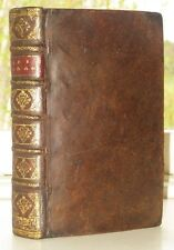 1717, RARE 1ère ÉDITION, POÉSIE, Epigrammes et autres pièces de M de Sénecé,LA18
