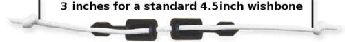10 pcs Spearit NTR Polespear Band Wishbone Bridle Terminals