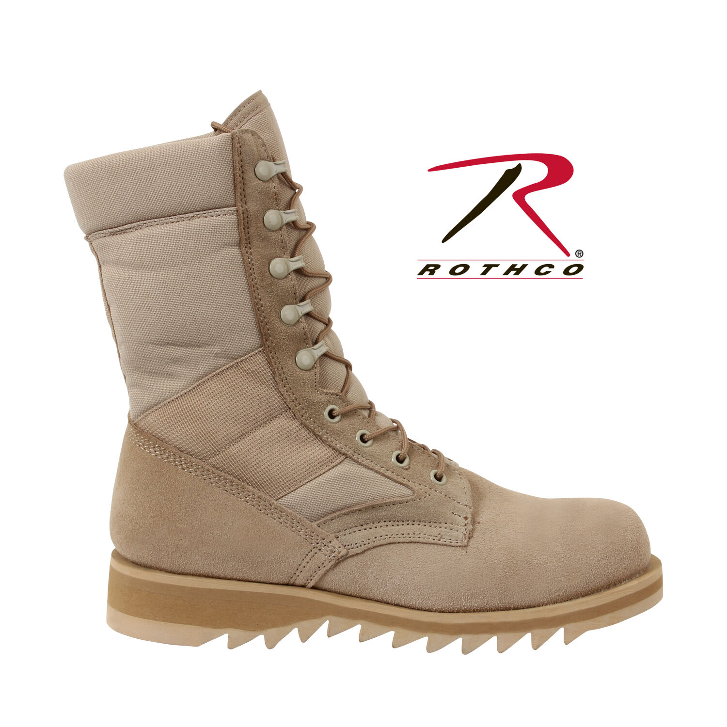 Rothco 5058 G.I. Type Ripple Sole Desert Tan Jungle Stiefel