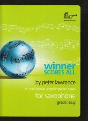 Workmanship In Winner Scores All Lawrance Saxophone Eb/bb Exquisite