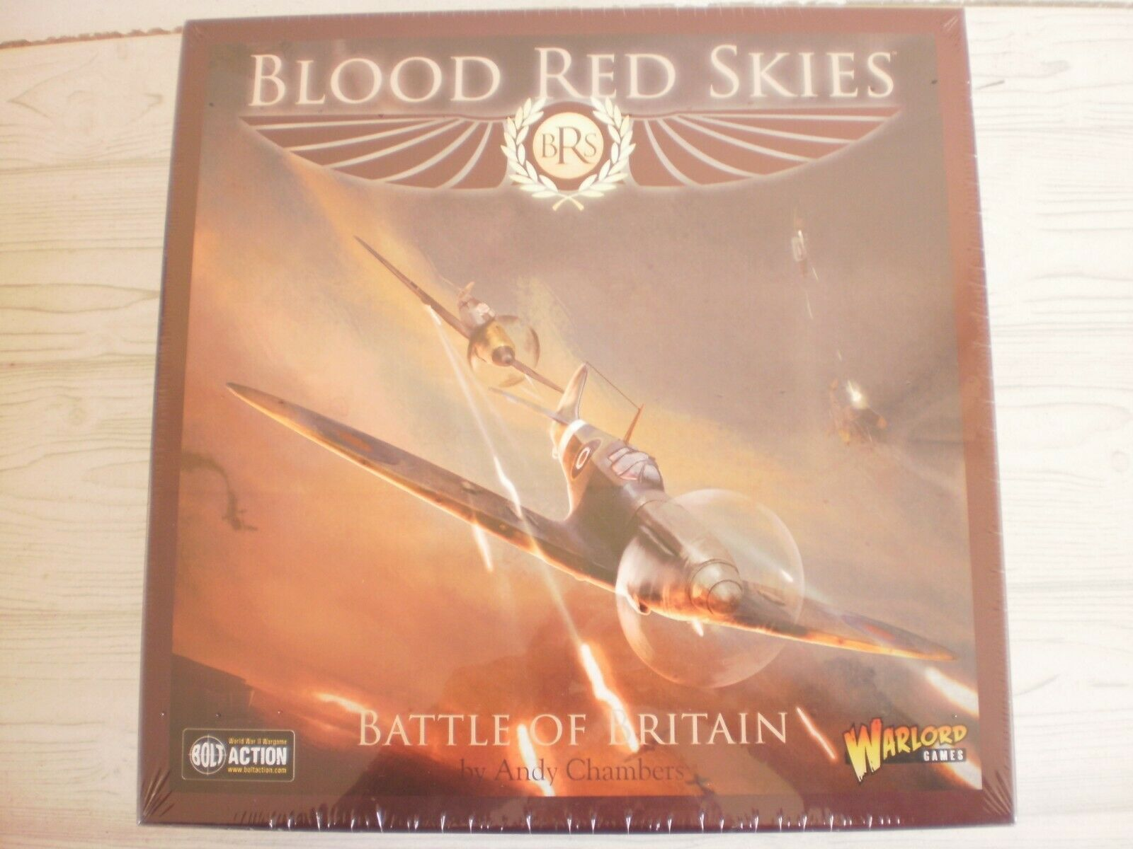 WARLORD - BLOOD RED SKIES - BATTLE OF BRITAIN (SEALED)