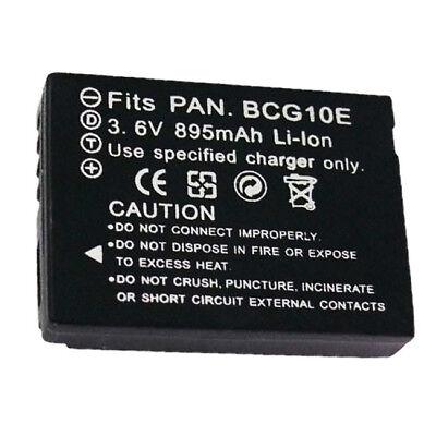 Batería 2x para Panasonic Lumix dmc-tz-6 tz-7 dmc-zs-1 zs-3
