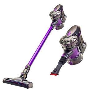 Vytronix BCS01 22.2V Lightweight 3 in 1 Cordless Upright Handheld Vacuum - Grey/Purple